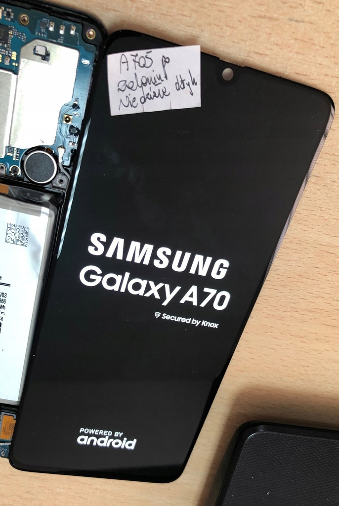 LCD Samsung Galaxy A70 A705 nie działa dotyk