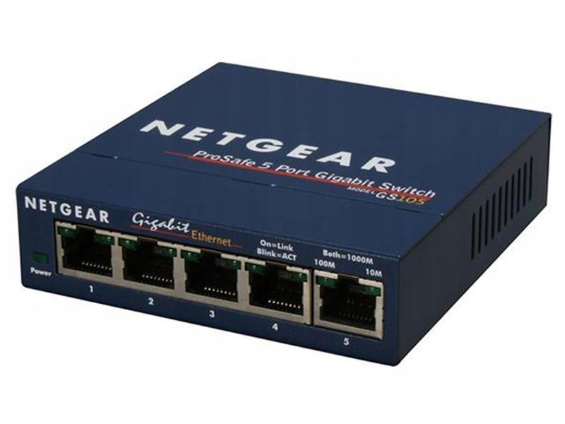 Switch niezarządzalny Netgear GS105GE