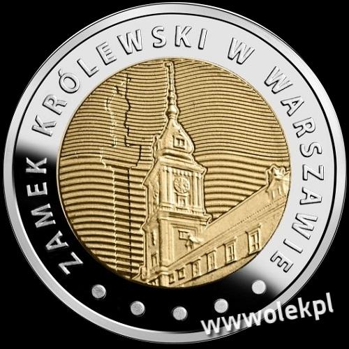 5 zł.ZAMEK KRÓLEWSKI