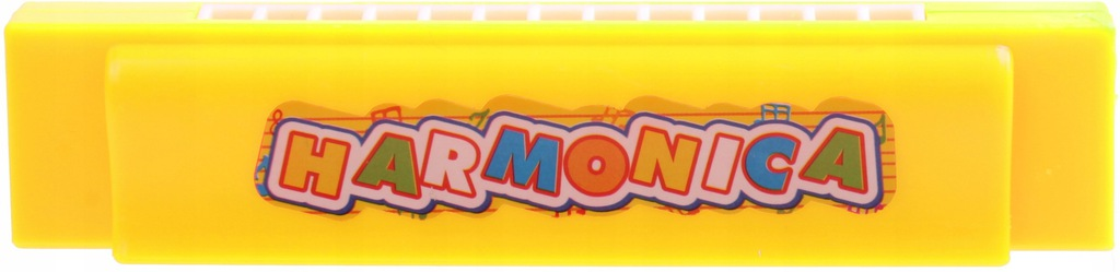 LG Imports harmonijka 13 tonów 13 cm żółty