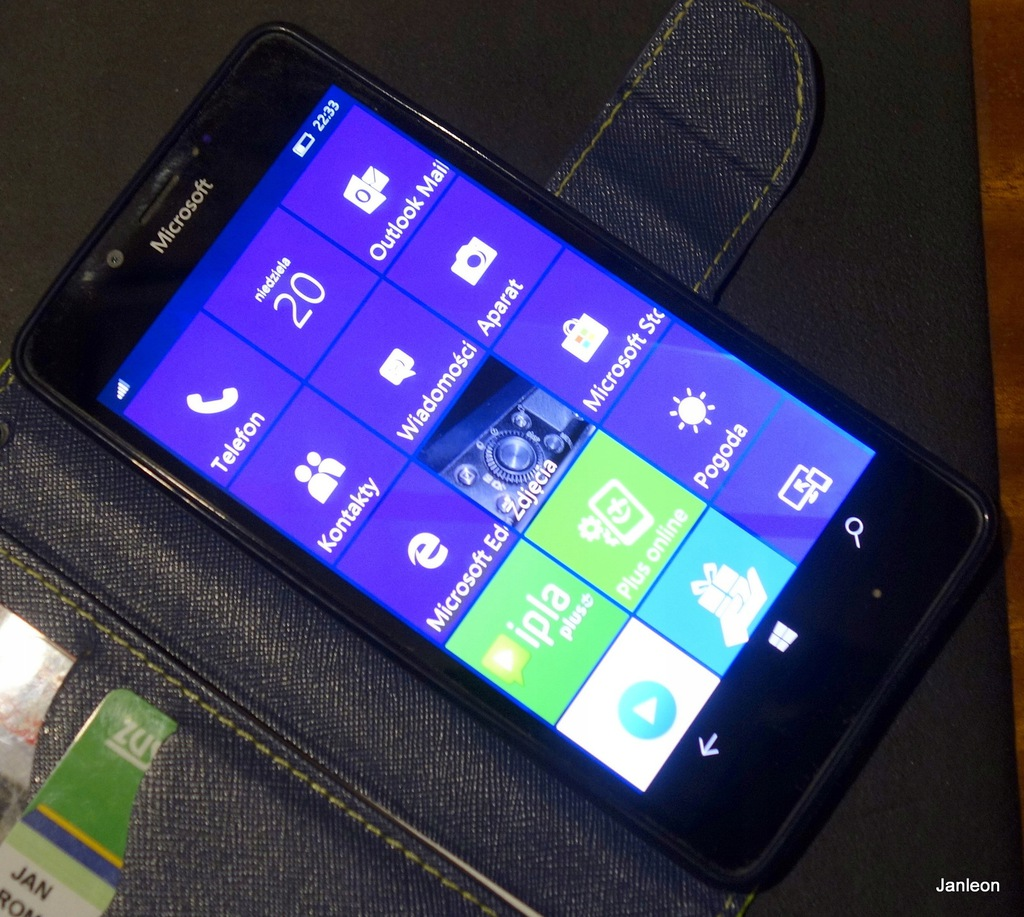 Smartfon Microsoft Lumia 950 3 GB / 32 GB czarny