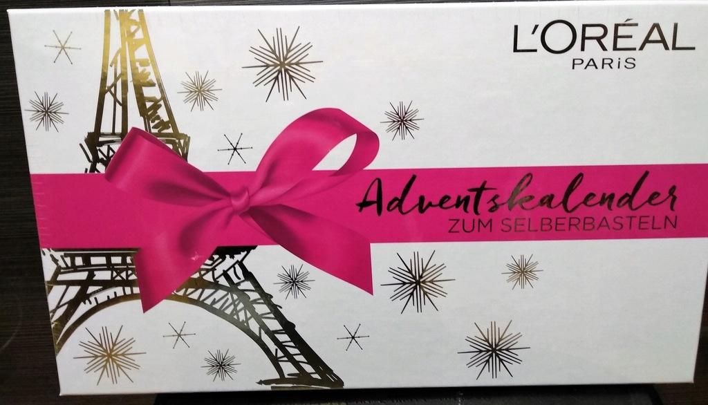 Loreal KALENDARZ ADWENTOWY 2018 z kosmetykami BOX