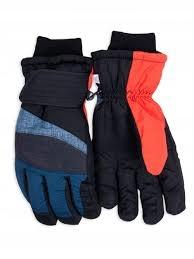 Rękawiczki narciarskie ortalionowe nieprzema R22YO
