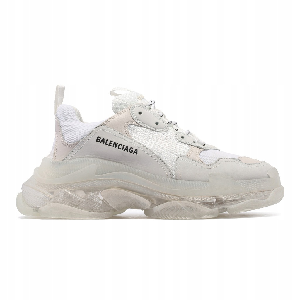 balenciaga buty damskie białe