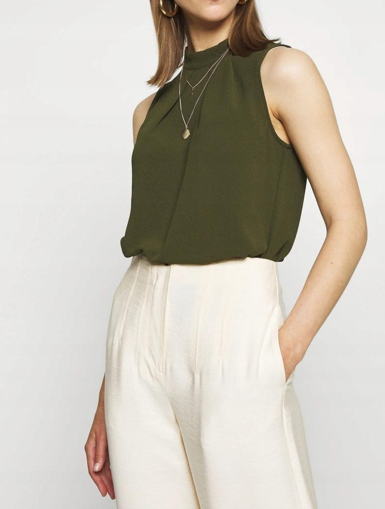 bluzka letnia t shirt koszula khaki Only r L