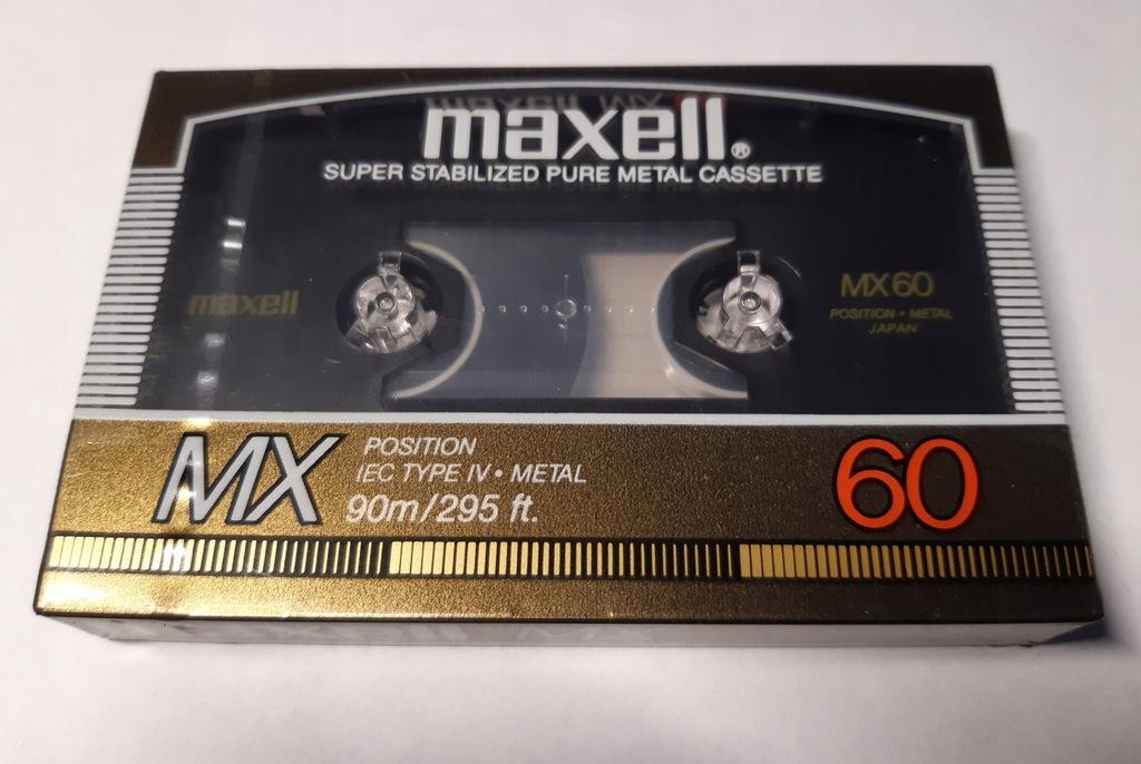 kaseta MAXELL MX 60