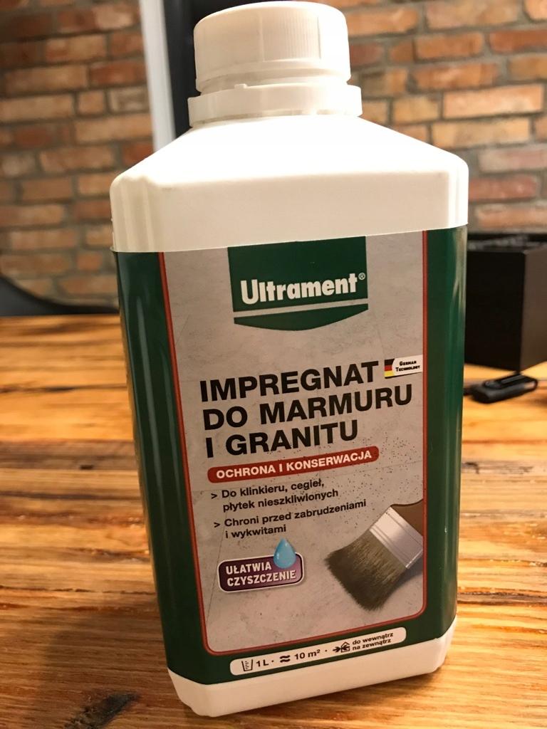 Impregnat Ultrament Do Marmuru I Granitu 1l 7980440231 Oficjalne Archiwum Allegro