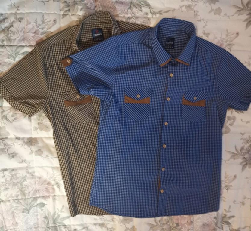 Koszula męska Krata GREYFOX 7755134655 oficjalne  UIqdH