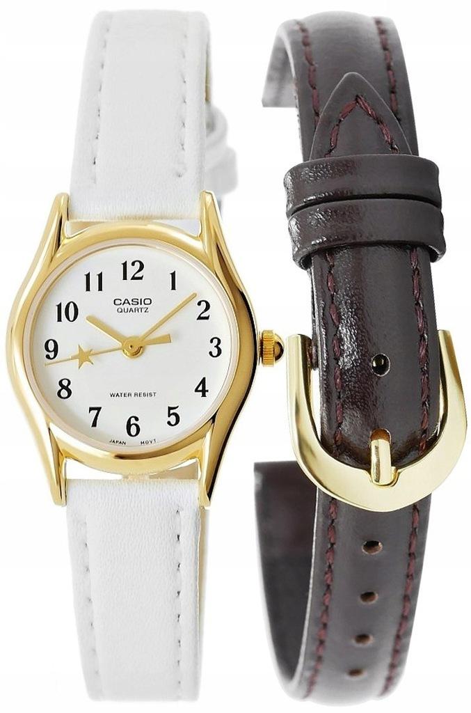 Zegarek Casio Gwiazda SLIM (skóra naturalna)