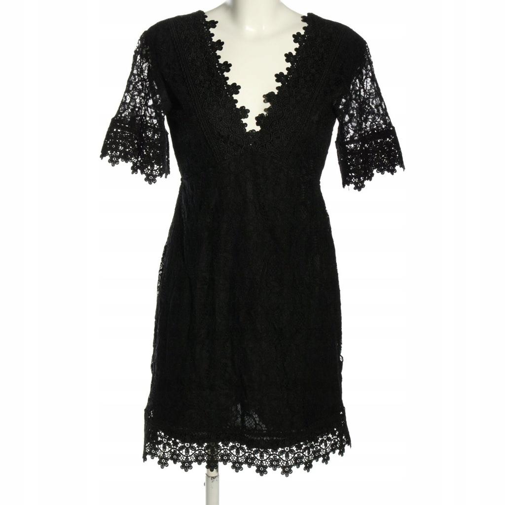 BIK BOK Koronkowa sukienka Rozm. EU 38 czarny