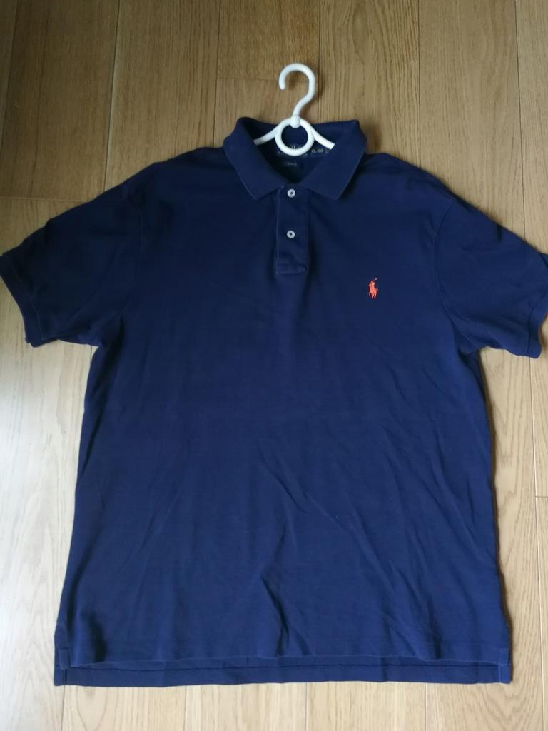 t-shirt POLO Ralph Lauren granat xl