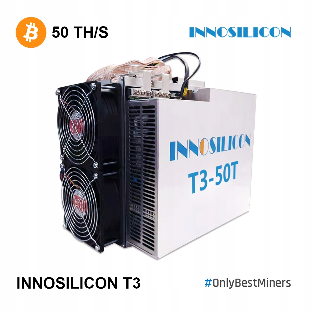 Innosilicon OD RĘKI! T3 50TH Antminer S17 m20s