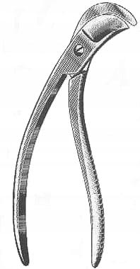 Nożyce do żeber typ Collin 19 cm