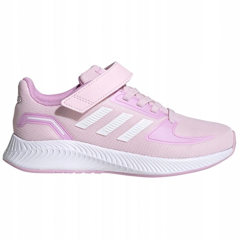Buty dla dzieci adidas Runfalcon 2.0 C różowe -32