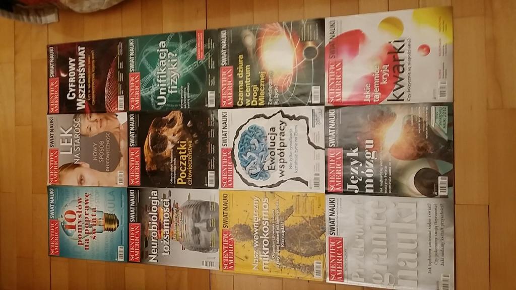 Świat Nauki - 2012 - (pełen rocznik!)
