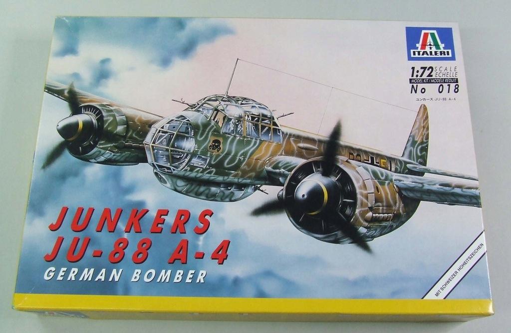 JUNKERS Ju-88 A-4 Italeri no 018 1/72