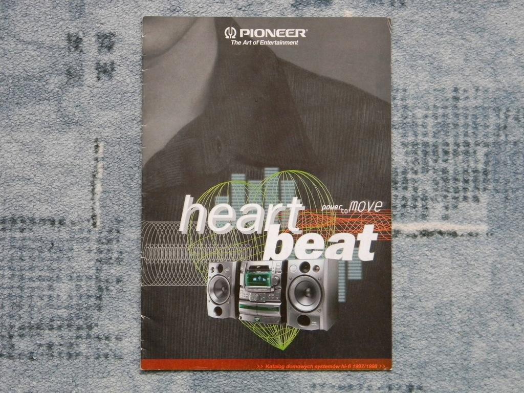 Katalog Pioneer 1997/1998 rok