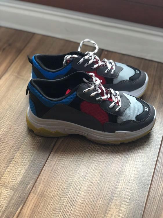 Buty sneakersy jak balenciaga triple S daddy shoes