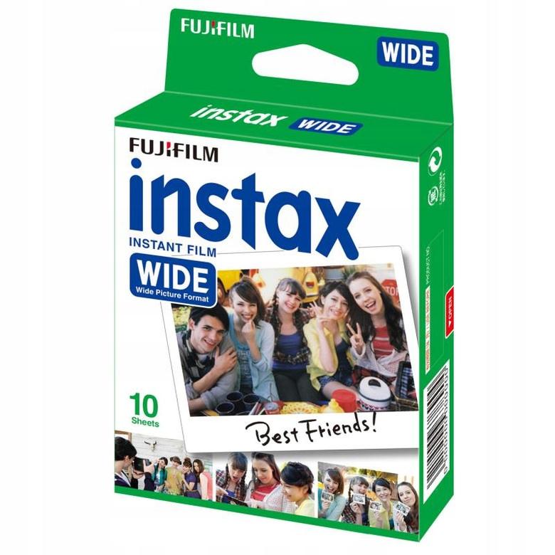 10x Wkład Film Fujifilm instax WIDE 04-2020
