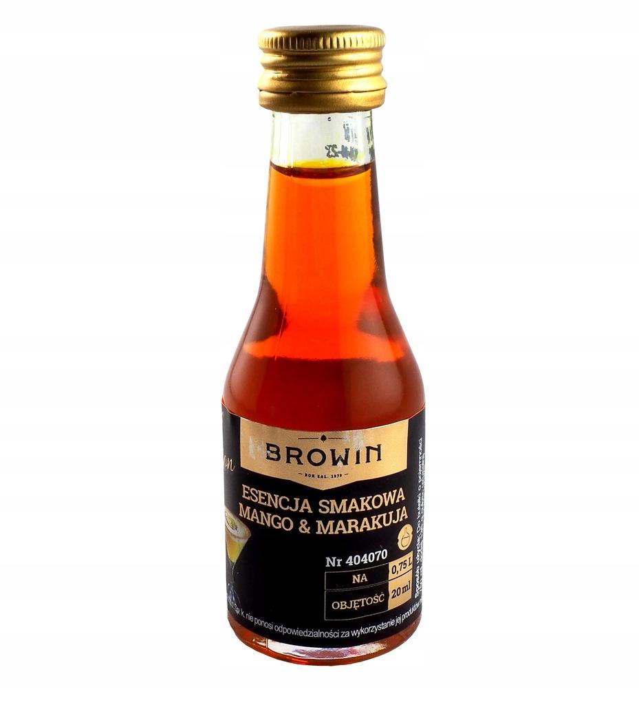 Esencja Mango Marakuja Browin zaprawka do wódki