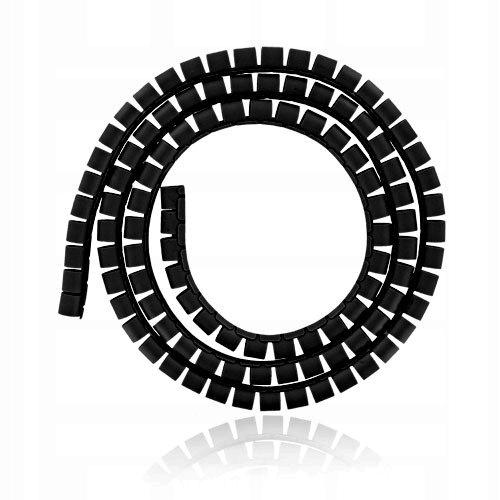 4World Organizer kabli 34MM, dł. 1,5M czarny