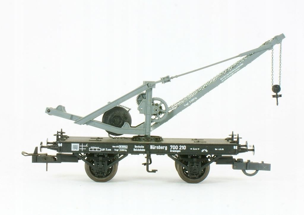 Trix. Wagon dźwig Nurnberg DRG II ep.