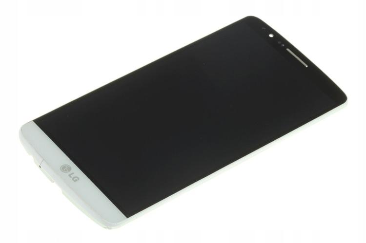 ORYGINALNY LCD DOTYK WYŚWIETLACZ LG G3 D855 BIAŁY
