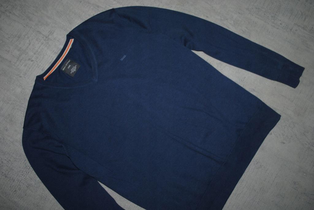 MARC O`POLO__granatowy sweter__logo__XL_
