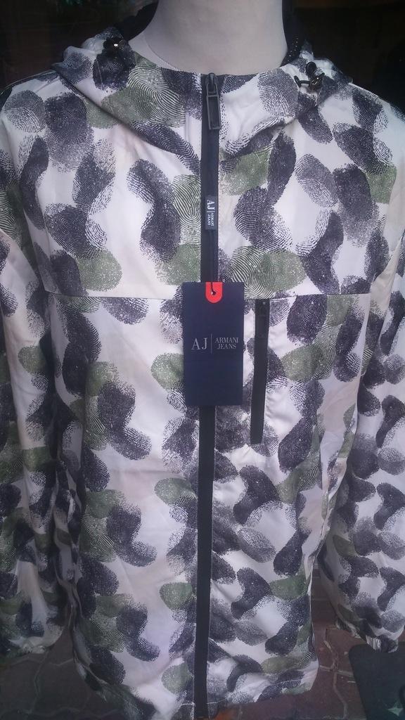 Nowa wiatrówka kurtka Armani jeans 3xl