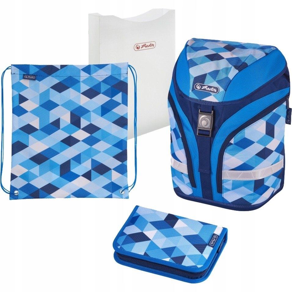 Herlitz motion plus Blue Cubes Plecak 4w1 2019