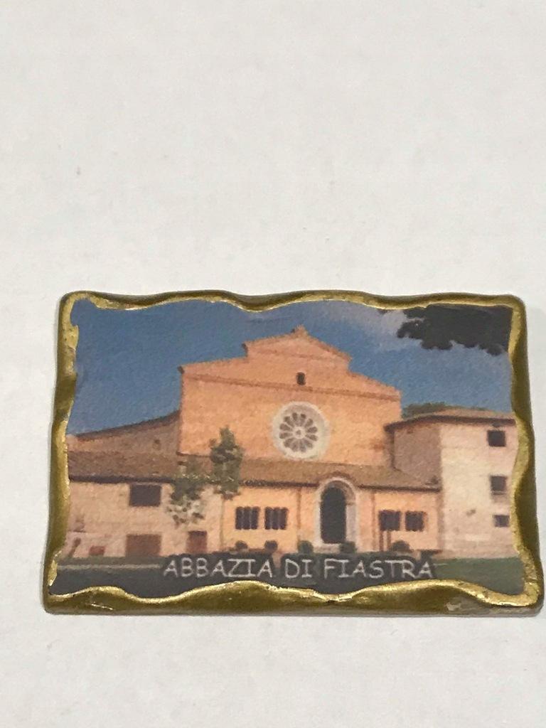 Magnes lodówkę magnez Opactwo Cysterów Abbazia di