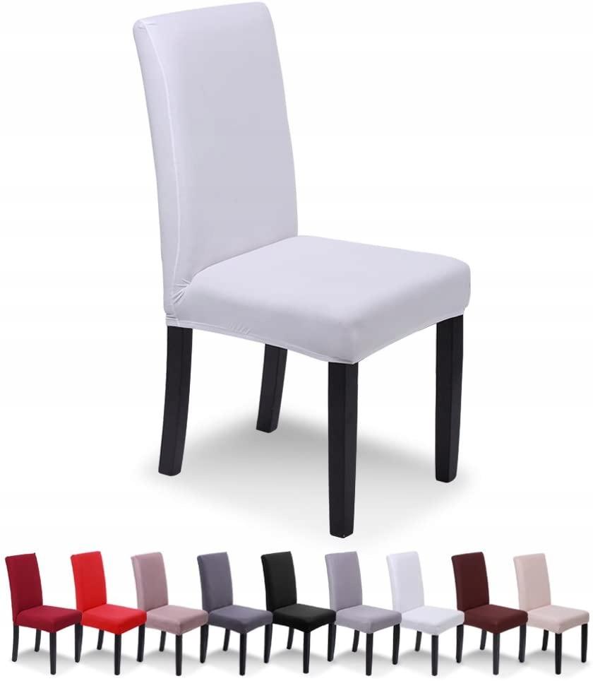 Pokrowce na krzesła SaintderG 3 szt beżowe
