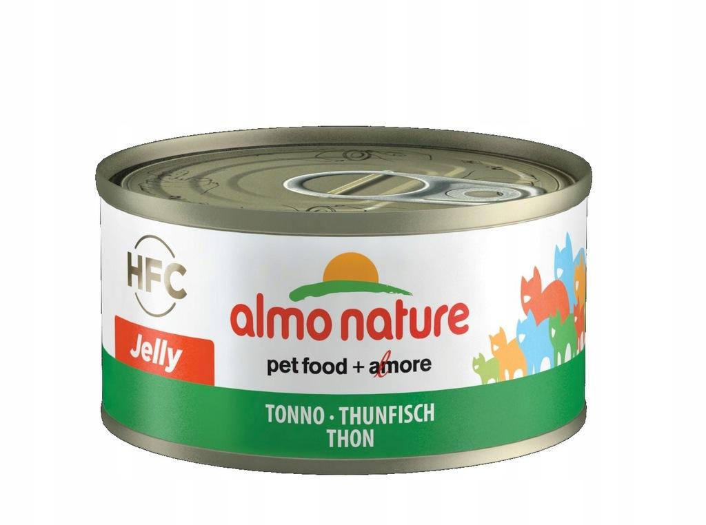 ALMO NATURE HFC Jelly - tuńczyk MOKRA KARMA 70 g
