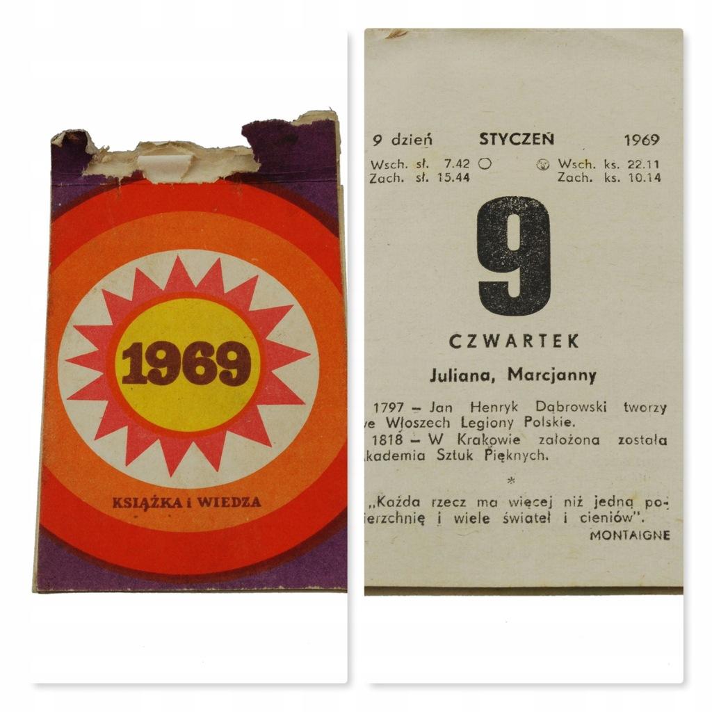 51 urodziny PREZENT kartka kalendarz zdzierak 1969