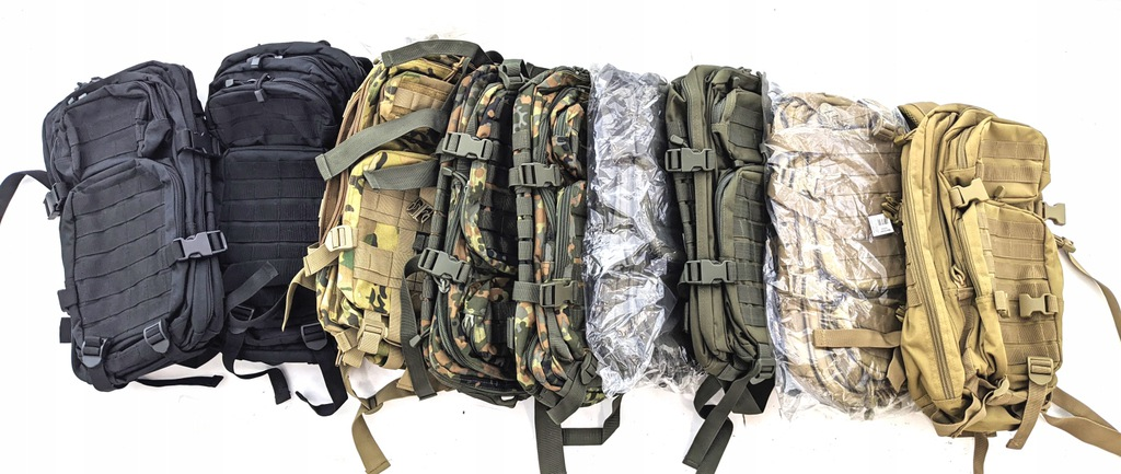 Plecak taktyczny Mil-tec assault 20l oliv outlet