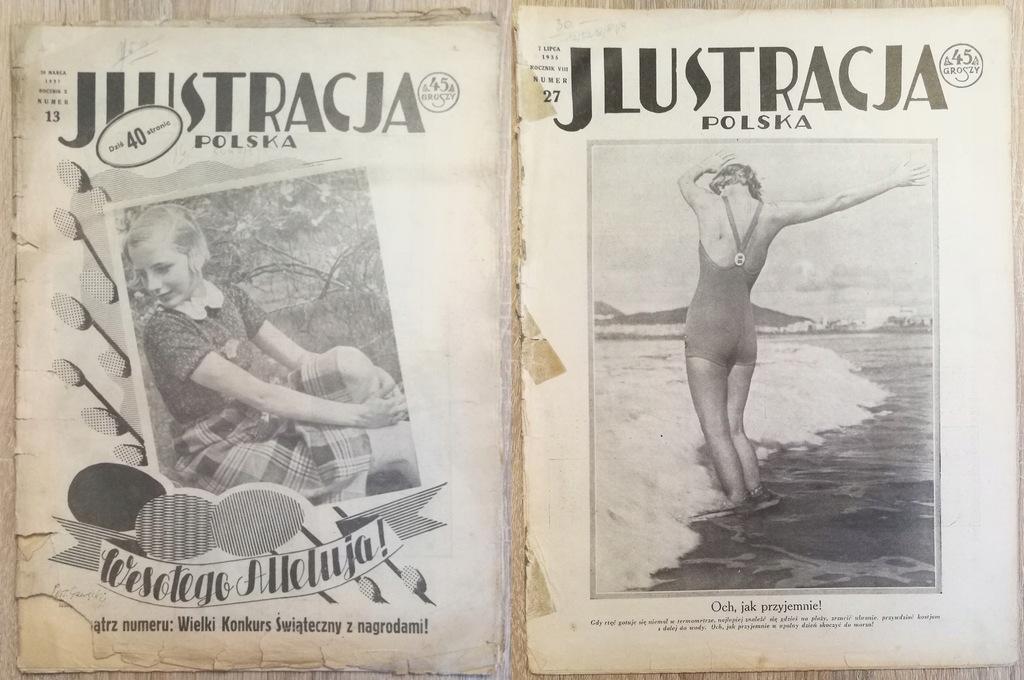Ilustracja Polska 1923/27/30/31/32/35/37/38/39
