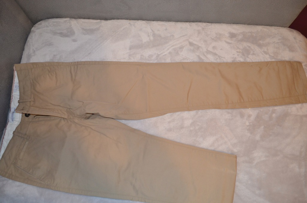 Spodnie JULES Beżowe, Rozmiar SLIM 36