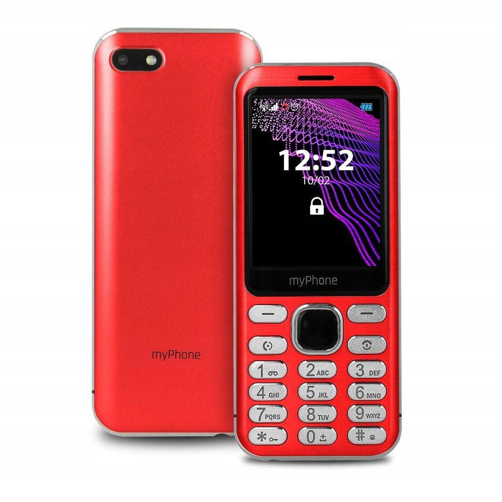 Telefon Myphone Maestro Czerwony Dla Seniora Sos 8781124864 Oficjalne Archiwum Allegro