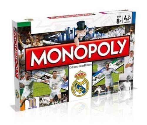 Monopoly Real Madrid gra planszowa Wiek 8