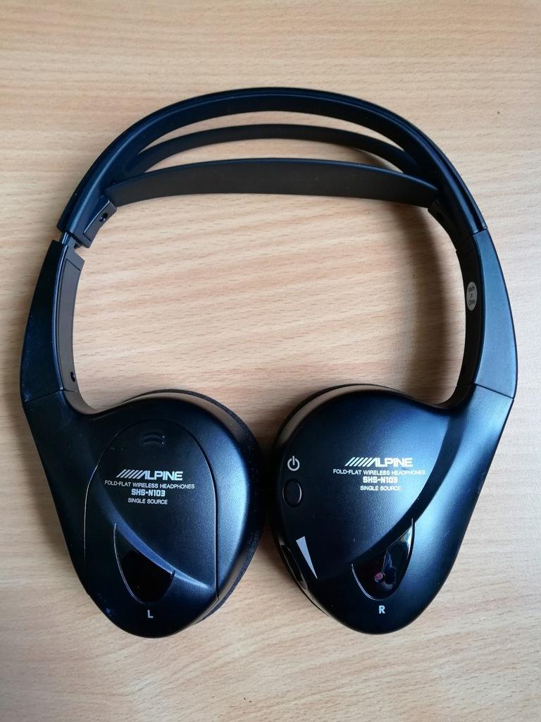 Alpine SHS-N103 Słuchawki Bezprzewodowe Alpine