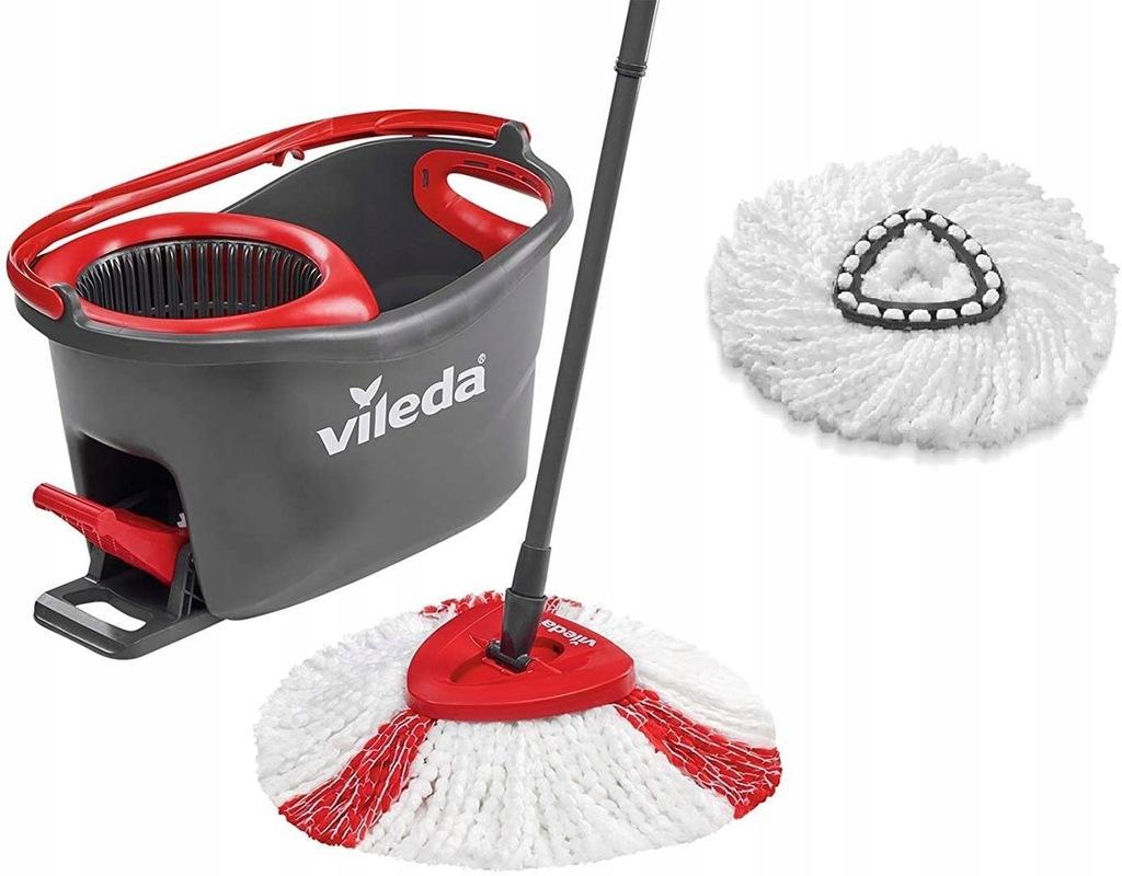 Mop obrotowy i wiadro zestaw Turbo Vileda 153095