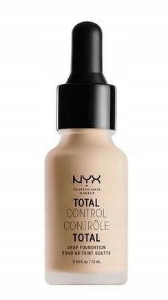 NYX, Podkład Total Control, 06 Vanilla, 13 ml - 9656389285 - oficjalne  archiwum Allegro