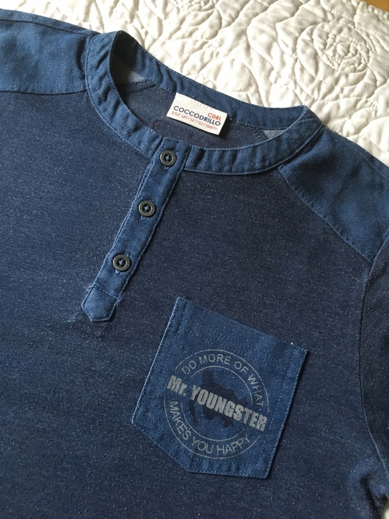 fajna koszulka bluzka COCCODRILLO rozm. 152