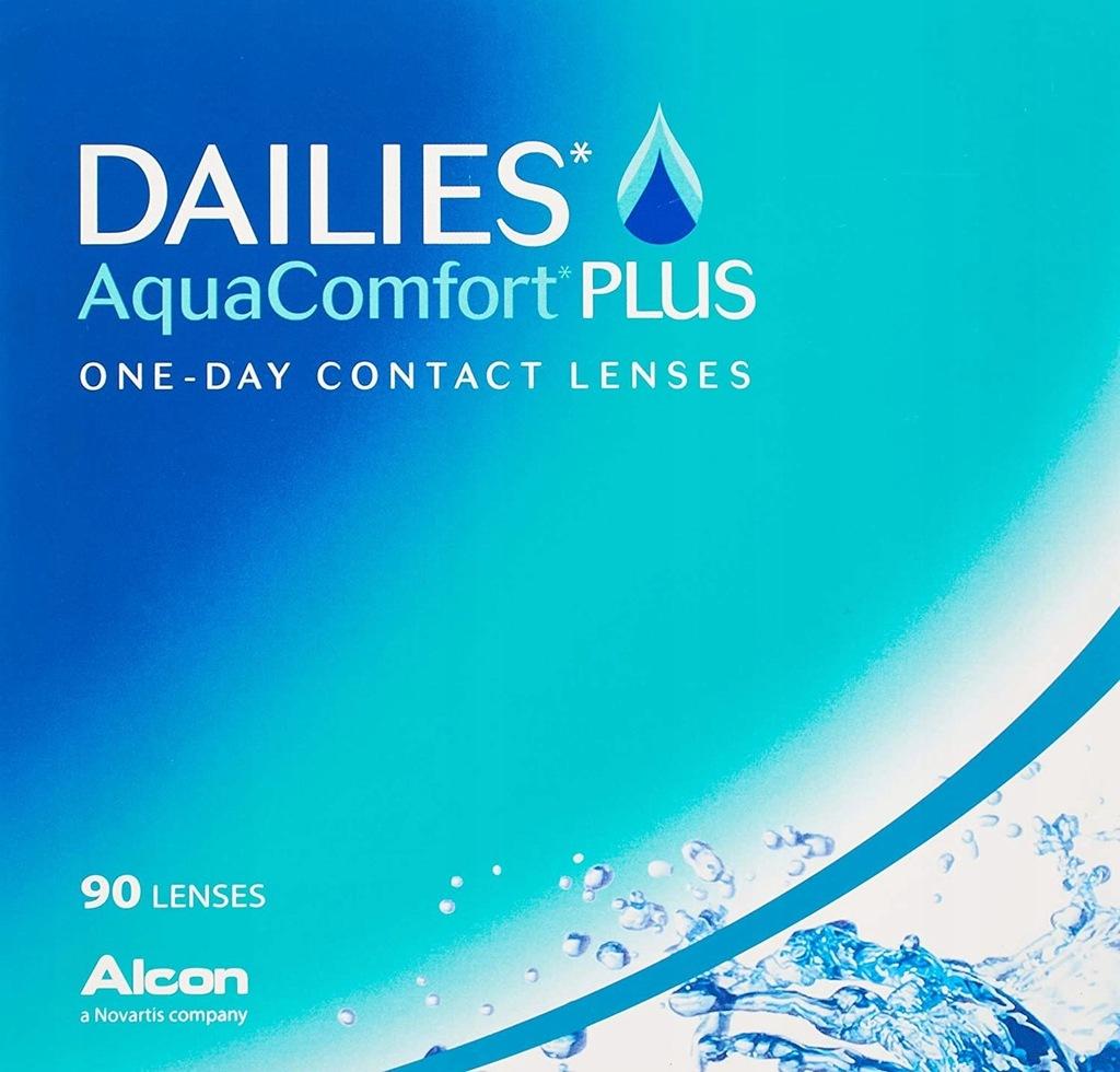 Soczewki Alcon DAILIES AquaComfort Plus 90szt