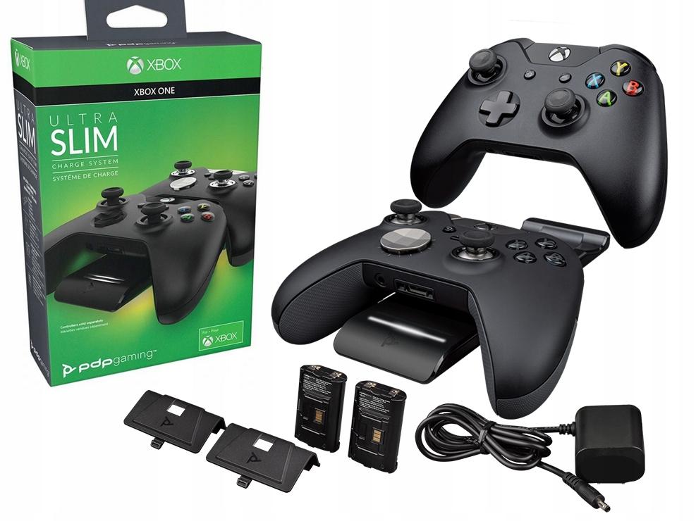ŁADOWARKA PADÓW Xbox ONE S X PDP Ultra SLIM 2xAku.