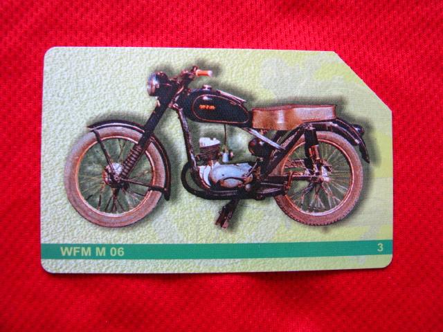 karta motocykle polskie - WFM M 06