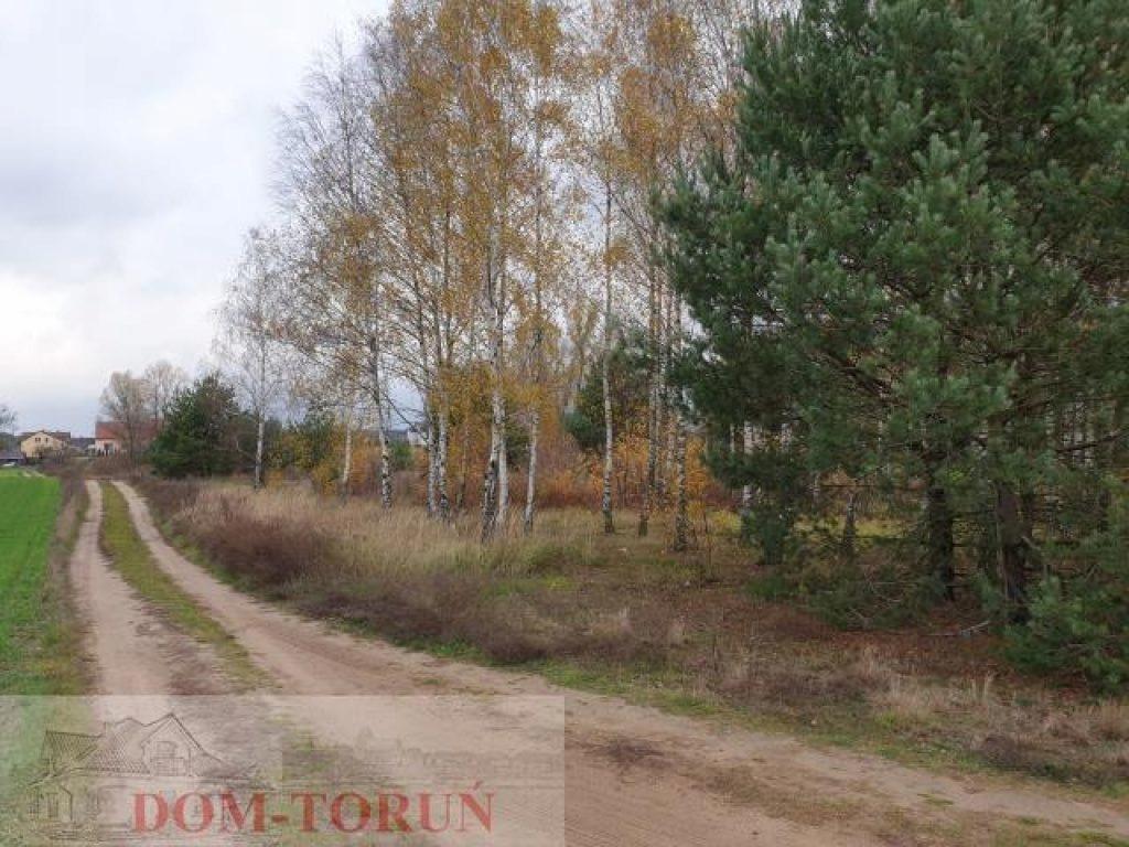 Działka Lubicz, toruński, 2411,00 m²
