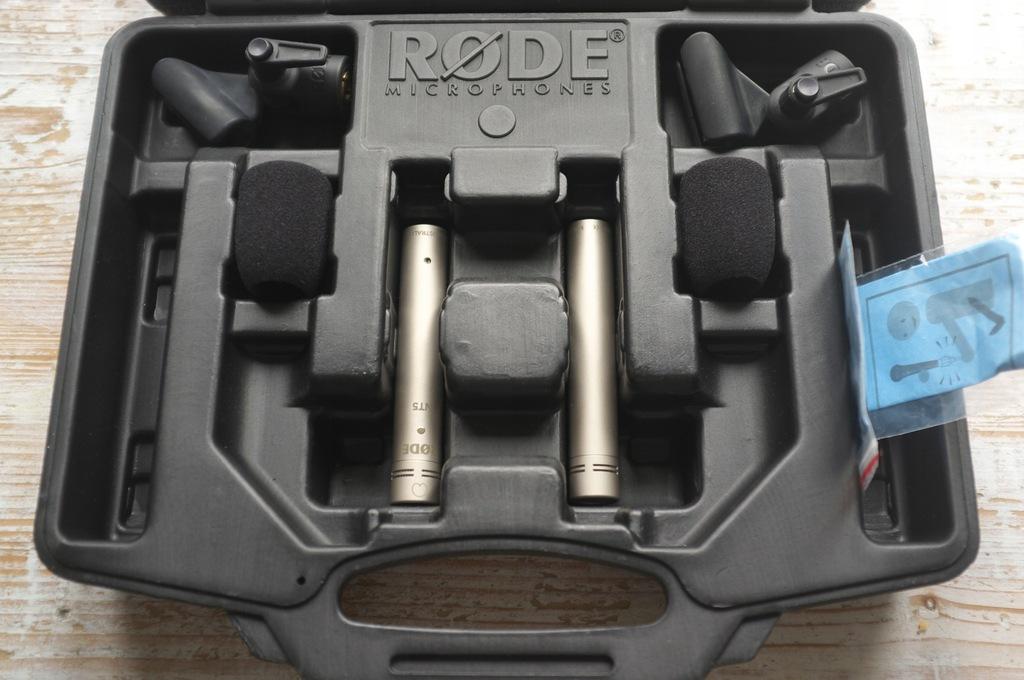 RODE NT5 Pair - Para mikrofonów pojemnościowych
