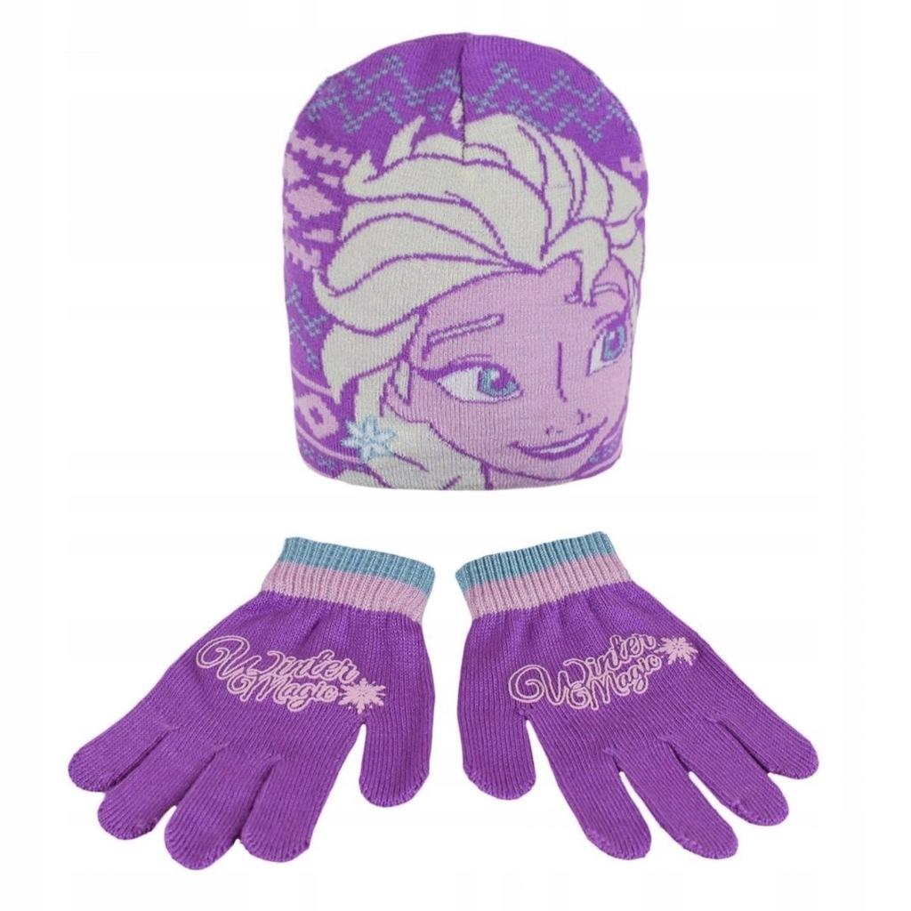 Komplet: czapka jesienna / zimowa i rękawiczki Fro
