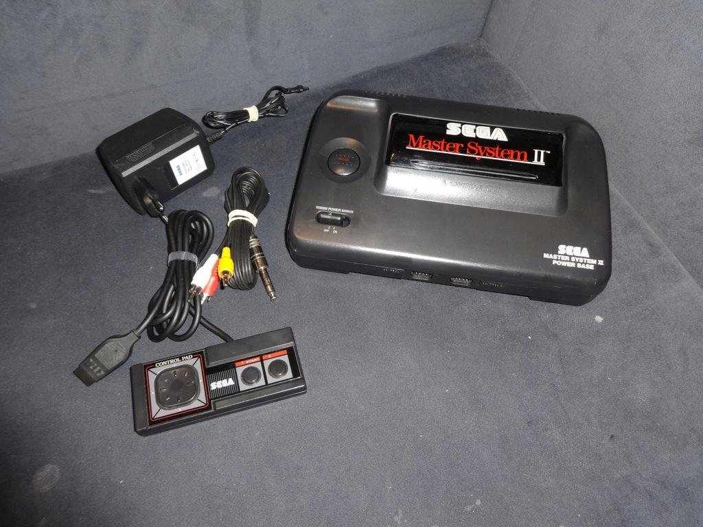 Komplet SEGA Master System 2 AV & 50/60 Hz MOD